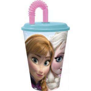 Jégvarázs szívószálas pohár