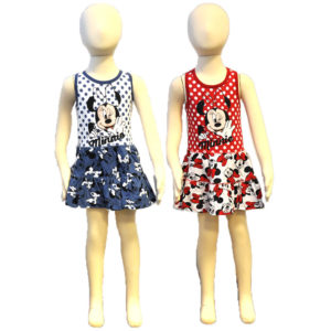 Minnie nyári ruha, gyerekruha