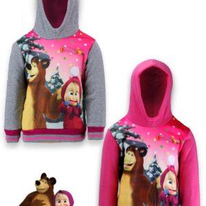 Mása és a Medve kapucnis pulóver