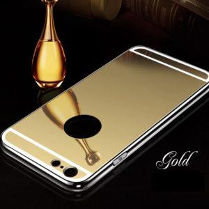 Iphone arany tükrös szilikon telefontok