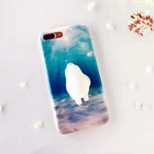 Iphone 3D jegesmedvés telefontok