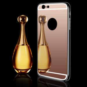 Iphone rosegold tükrös szilikon telefontok