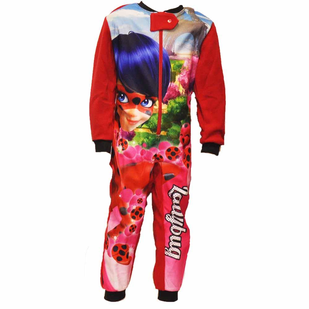 Miraculous, Ladybug gyerek kezeslábas pizsama
