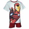 Avengers Bosszúállók pizsama fehér