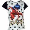 Miraculous Ladybug Katicabogár póló fekete