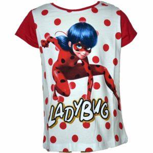 Miraculous Ladybug Katicabogár póló piros
