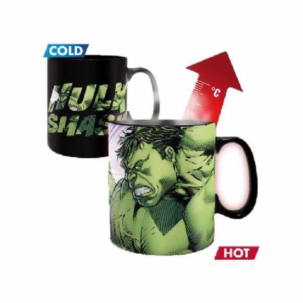 Avengers, Bosszúállók Hulk színváltós bögre.