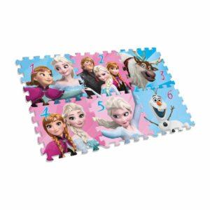 Jégvarázs szivacs puzzle szőnyeg 6 db-os