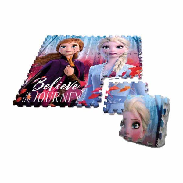 Jégvarázs szivacs puzzle szőnyeg 9 db-os