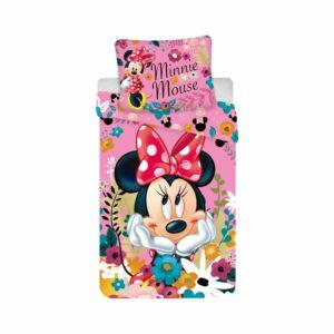 Minnie virágos ágyneműhuzat