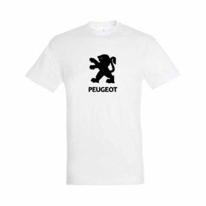 Peugeot emblémás póló - Fehér