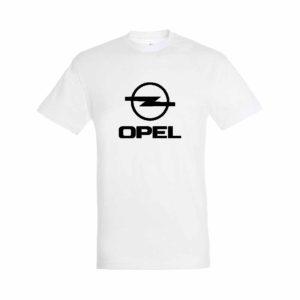 Opel emblémás póló - Fehér