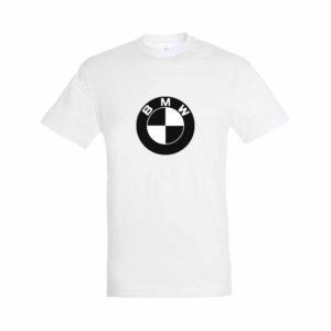 BMW emblémás póló Fehér