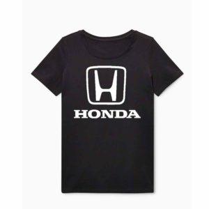 Honda emblémás póló - Fekete