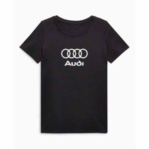 Audi emblémás póló - Fekete