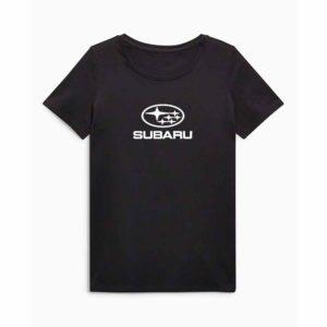 Subaru emblémás póló - Fekete