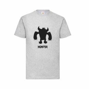 Monster mintájú póló