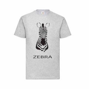 Zebra mintájú póló