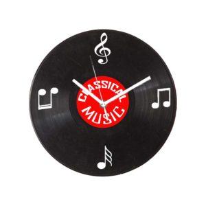Bakelit lemez mintájú falióra Klasszikus