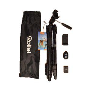 Rollei állvány telefon adapterrel és távkioldóval
