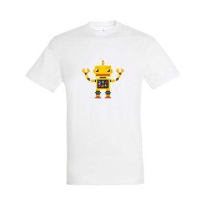 Pixel Robot póló