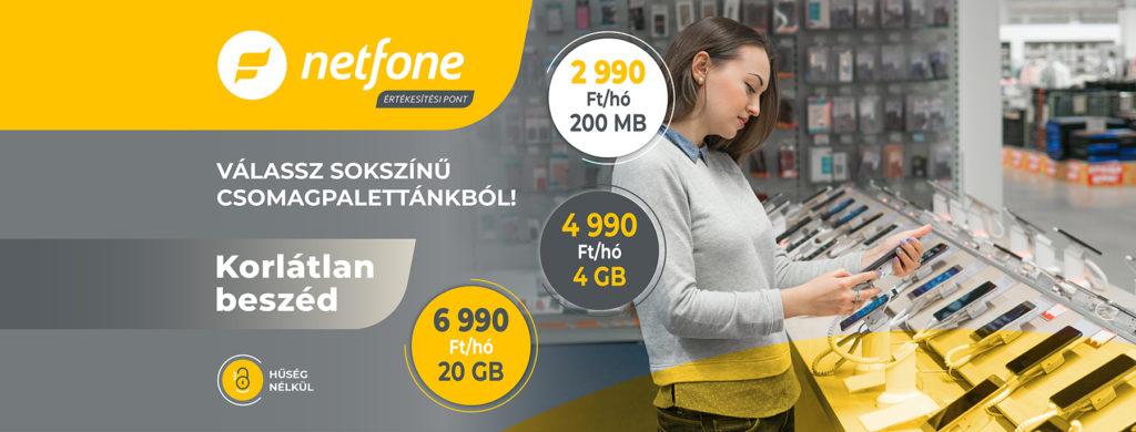 Netfone - Előfizetések